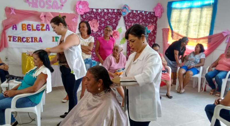 CRAS Yolanda Pires Promove Evento do Dia do Idoso com os Grupos Idade da Sabedoria