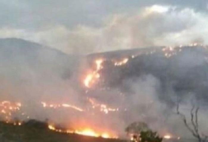 Incêndio volta a atingir áreas em Rio de Contas