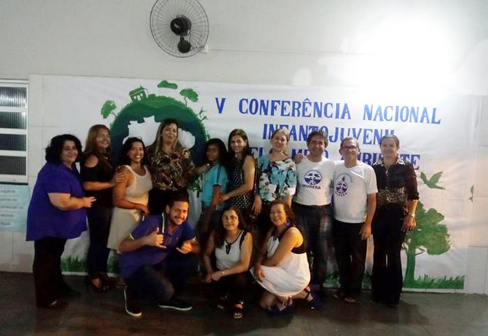 MODERA PARTICIPA DAS CONFERÊNCIAS PELO MEIO AMBIENTE EM ESCOLAS DO MUNICÍPIO DE BRUMADO