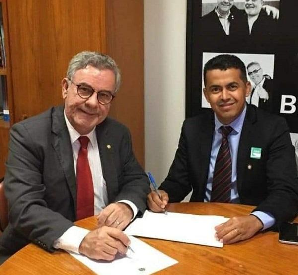 Guajeru: Deputado Federal Waldenor Pereira garante mais emendas para investimentos na área da Saúde
