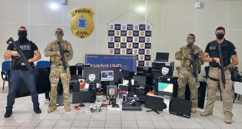 Sudoeste da Bahia: Operação 'Laranja' age contra crimes de tráfico de drogas sintéticas, comércio ilegal de armas de fogo, furto e outros