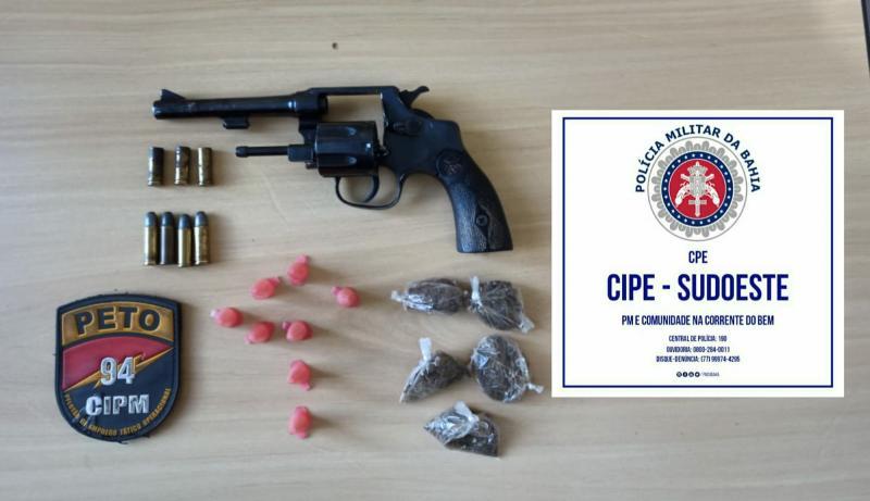 Caetité: Suspeito de homicídios, tentativa de homicídios, porte de arma de fogo e tráfico de drogas morre em confronto com a polícia