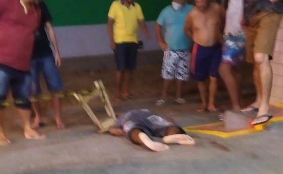 Dom Basílio: Homem é morto a tiros em posto de combustíveis
