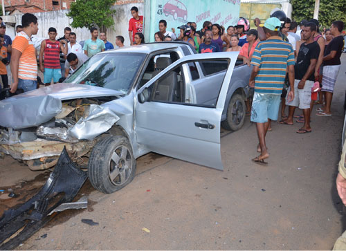 Brumado: Acidente grave na Av. Coronel Santos envolvendo dois veículos