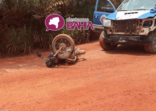 Viatura da 34ª CIPM se envolve em acidente em Ibicoara; uma pessoa morreu