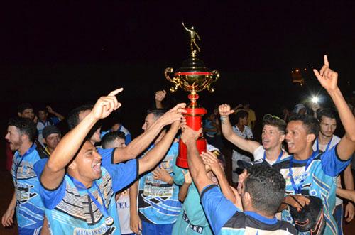 Aracatu vence Malhada de Pedras e garante o título da Copa sudoeste de Seleções 2017