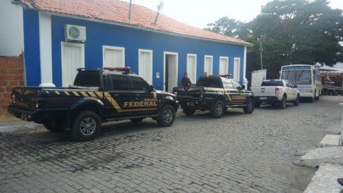 Aracatu, Palmas de Monte Alto e outros municípios baianos são alvos de Operação da Polícia Federal