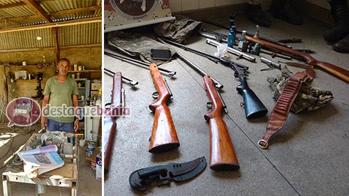 Homem é preso em Ituaçu de posse de arma calibre 44 de uso exclusivo das forças armadas