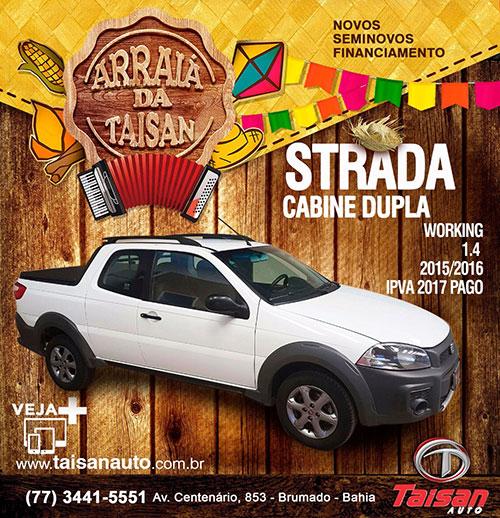 No arraiá da Taisan Auto tem novidades, facilidades e menores preços