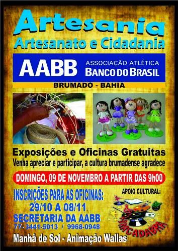 Artesania – 'Artesanato e Cidadania' neste domingo na AABB