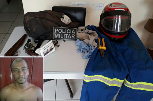 Assaltante que atuava em Brumado, Tanhaçu, Ituaçu e região morre em confronto com a PM