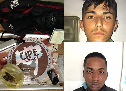 Dupla acusada de tráfico de drogas, roubos e furtos em Barra da Estiva é presa