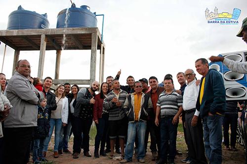 Em Barra da Estiva prefeitura faz grande investimento para solucionar a crise hídrica