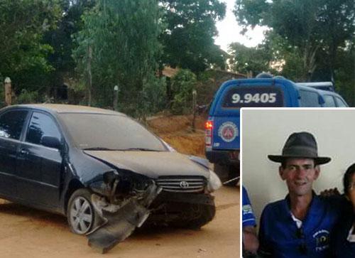 Acidente automobilístico deixa uma vítima fatal na zona rural de Caetité