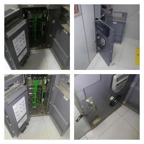 Caixa Eletrônico do Bradesco de Aracatu é violado todo dinheiro furtado