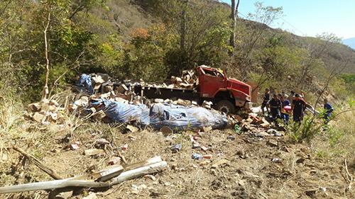 Acidente é registrado na Serra das Almas, trecho entre Livramento e Rio de Contas
