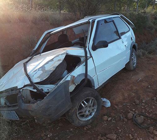 PM da 34ª CIPM/Brumado sofre acidente na BA - 142, trecho entre Ituaçu a Tanhaçu