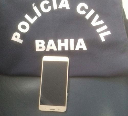 Polícia recupera Smartphone roubado em posse de cigano em Aracatu