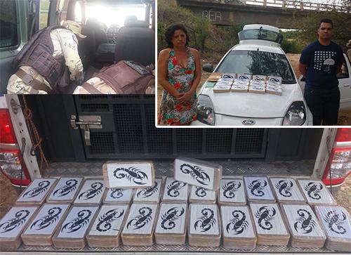 4 pessoas são presas e 152 kg de cocaína apreendidas em Sussuarana/ Tanhaçu; durante Operação da Polícia Federal