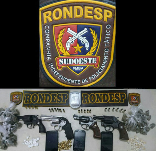 Bandidos morrem em confronto com a Rondesp em Conquista