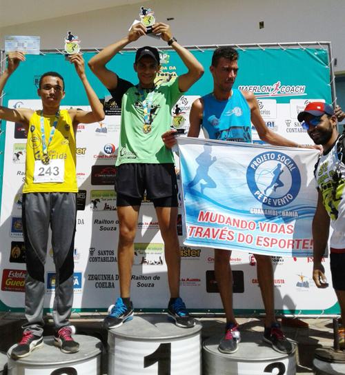 Atleta brumadense conquista título na 3º Edição da Corrida de Rua em Bom Jesus da Lapa