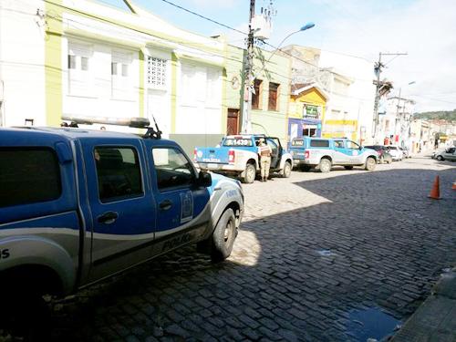 Família de gerente de banco é feita refém durante tentativa de assalto em Nazaré