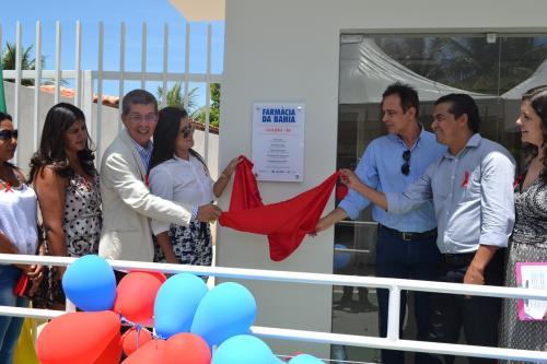 Foi inaugurada em Guajeru a unidade da Farmácia da Bahia