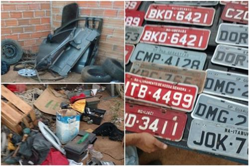 Polícia Civil prende receptador e recupera veículos em Livramento