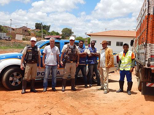Prefeitura de Maetinga e PRE firmam parceria e animais são tirados de circulação da Ba - 623