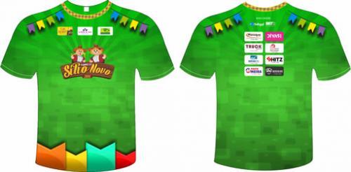 Vestido para a Alegria: Lançada a camisa oficial do Forró do Sítio Novo 2016