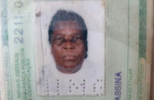 Sem informações alguma sobre seus familiares tanhaçuense está internada em Montes Claros/MG
