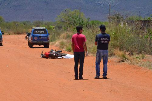 Jovem de 21 anos morre em acidente motociclístico em Dom Basílio