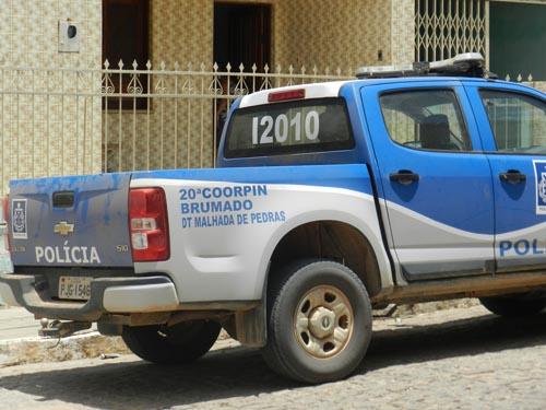 Malhada de Pedras - Polícia Civil prende homem que agrediu companheira.