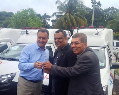 Maetinga é contemplada com ambulância pelo Governo do Estado