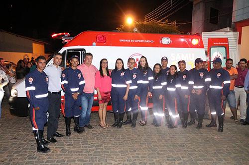 Base do Samu 192 é inaugurada em Rio do Antônio