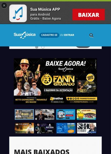 Fann Estourado, o 'Baixinho da Ostentação' é destaque no maior site de downloads do Brasil