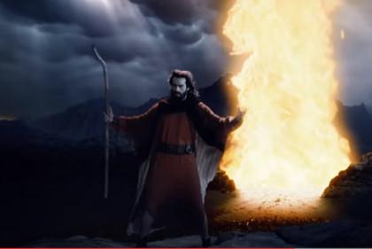 'Os Dez Mandamentos: O Filme' vende mais 400 mil ingressos em seis dias de pré-venda