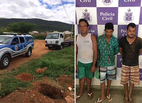 POLÍCIA MILITAR  RECUPERA MATERIAIS DE CONSTRUÇÃO FURTADO E RECUPERA CAMINHÃO ROUBADO EM BRUMADO
