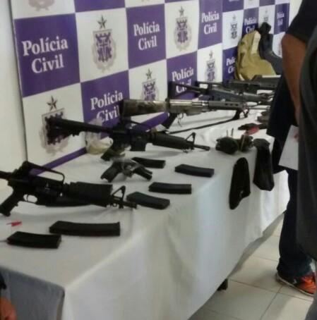 BOPE apreende fuzis e munições utilizadas por quadrilha em Irecê