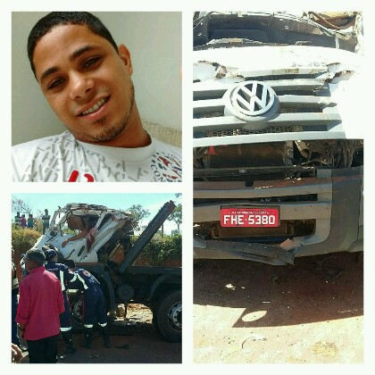 Wilian Damasceno,  de Brumado, morre em grave acidente na BR - 030, em Caetité