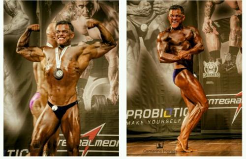 Fisioterapeuta e fisiculturista brumadense Alípio Silva conquista o 7º lugar no Campeonato Sul-americano NABBA WFF Bodybuilding