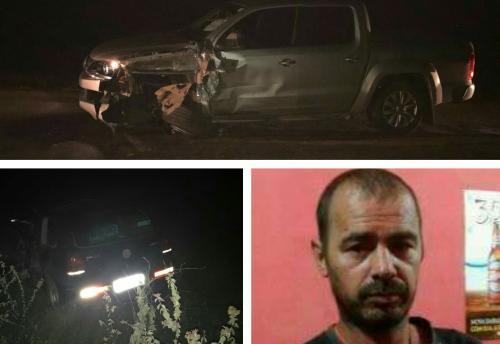 Acidente envolvendo ex - vereador brumadense deixa uma vítima fatal em Tanhaçu