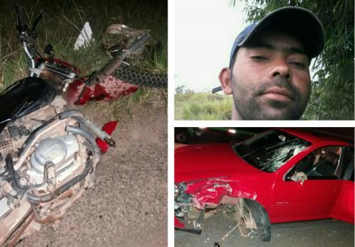 Motociclista morre após colidir frontalmente com Golf em Barra da Estiva