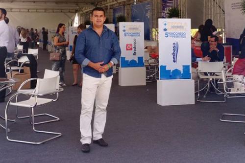 Gil Rocha participa do 5º Encontro de Prefeitos promovido pela UPB