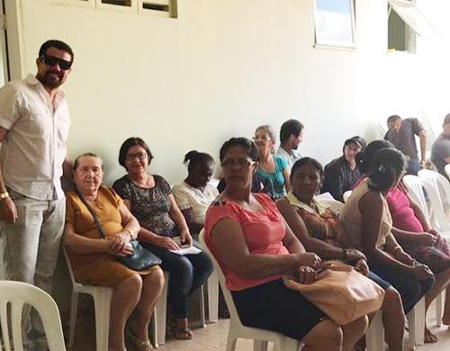 Em mais uma etapa do Projeto Glaucoma, mais de 150 pessoas são atendidas em Malhada de Pedras