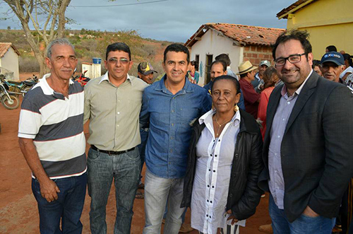Prefeito de Guajeru e Condeúba se unem para viabilizar benefícios para a Caatinga, localidade que faz divisa entre os municípios