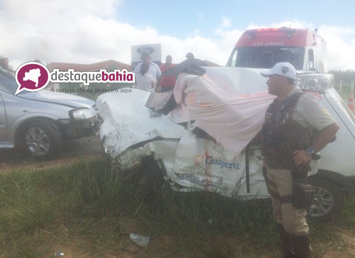 Três pessoas da cidade de Guajeru morrem em grave acidente ocorrido em Conquista
