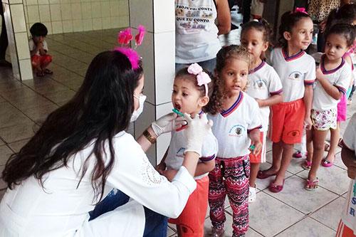 Prefeitura de Guajeru conclui mais uma edição do projeto 'Saúde Bucal nas Escola'