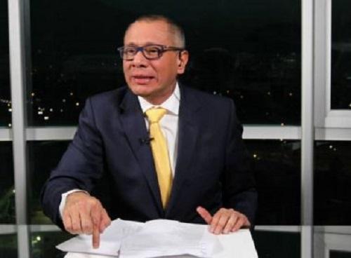 Suspeito de integrar esquema da Odebrecht, vice-presidente do Equador é preso