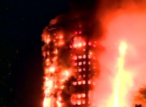Londres: Sobe para 17 número de mortos após incêndio em prédio